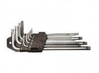 sada klíčů TORX T10-50, 9díl., prodl., FESTA
