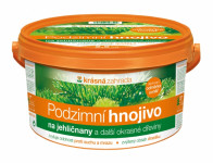 Hnojivo KRÁSNÁ ZAHRADA podzimní na jehličnany 2,5kg