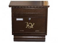 schránka poštovní 390x440mm HN antika ST104