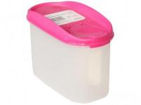 dóza MLOCK dávkovací oválná 1,2l plastová