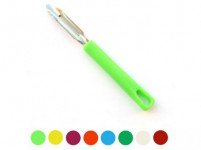 škrabka P nerez 17cm, plastová rukojeť - mix barev