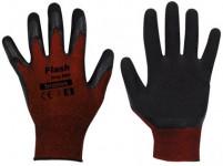 rukavice FLASH GRIP latex 9