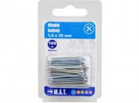 hřebík kalený 35x1,5mm Zn (100ks)