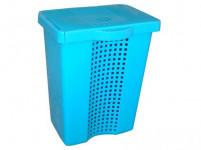 koš na špinavé prádlo LINETTE 70l 43x31x58,5cm plastový - mix barev