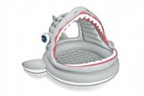 Bazén dětský žralok se stříškou nafukovací dno
