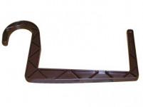 držák truhlíků kulatý závěs 11x12cm HN
