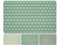 prostírání plastové, 43x28,5cm 3 dekory - mix variant či barev