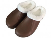 pantofle gumové zimní pánské vel. 43 (pár) - mix barev