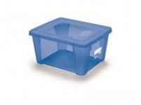 box úložný SCATOLA 2l, 19x16x10cm s víkem plastový, MO