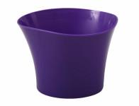 Obal na květník PRIMULE plastový fialový d12x9cm