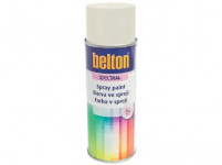 barva ve spreji BELTON RAL 9010m, 400ml BÍ matná