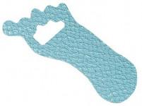 podložka protiskluz. NOHA 9x3,5cm (12ks) - mix barev