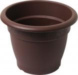 Plastia obal Muškát - čokoládový 26 cm