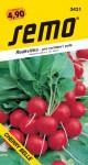 Semo Ředkvička červená - Cherry Belle na pole i k rychlení 1,5g