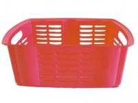 košík stohovatelný 40x30x15cm plastový - mix barev