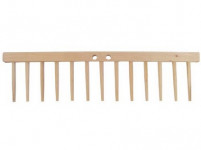 hřeben dřevěný 13 kolíků dřevěných, d.49cm