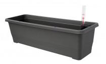 Truhlík samozavlažovací BERGAMOT plastový 80x20x17cm