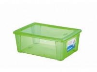 box úložný SCATOLA 10l, 36,5x25,5x14cm s víkem plastový, ZE