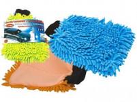 rukavice čisticí mikrovlákno žinylka - mix barev