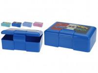 box svačinový 20x13x7cm s klick. uz. plastový - mix variant či barev