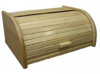 chlebovka 39x28x18cm dřev. dub lakovaná