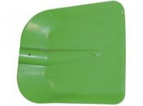 lopata uhelka 28x25cm plastová, bez násady - mix barev