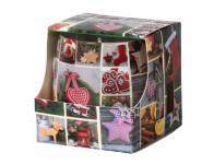 Svíčka ve skle MAGIC TIME vánoční vonná 100g