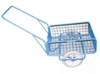 vozík RAPID VI, polyuretan, komaxit, 450x640x280(1320) mm