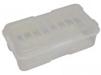 box s klick uzávěrem 35x19x11cm (5,6l) plastový - mix barev