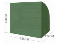 plachta krycí na houpačku 215x124x168-143cm se zipem PE 110g/m2