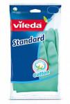 Rukavice pro domácnost Vileda Standard gumové M středn