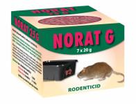 Rodenticid NORAT 25 zrno 7x20g