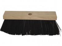 kartáč silniční 34x8cm na hůl dřev., PET vlákno 12,5cm