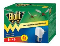 Odpařovač BIOLIT elektrický proti komárům 45 nocí 27 ml