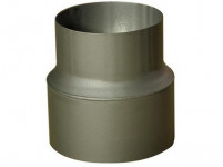 redukce trubková 150/120mm (d.160mm) t.1,5mm ČER