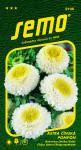 Semo Astra čínská - Pompon white and yellow 0,5g