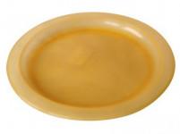 talíř mělký 23cm plastový - mix barev