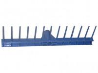 hřeben 48x13cm, 13z plastový (monolit)