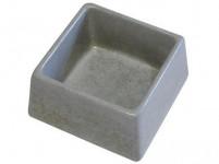 miska čtverec 155x155x75mm beton (84)