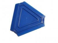 škrabka na led trojúhelník 8x8x8cm plastová - mix barev