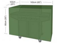 """plachta krycí na gril CLASSIC """"XL"""" 165x63x90cm, PE 90g/m2"""