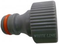 """adaptér s vnitřním závitem 1/2"""", WL-2196, WHITE LINE"""