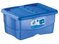 box úložný TRENDYCOLOR 12l, 40x30x18cm s víkem plastový, MO, RŮŽ