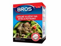 Rodenticid BROS obilné vločky na myši a potkany 5x20g