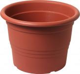 Květináč Cilindro / Premium - terakota 25 cm