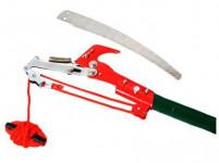 nůžky housenice s pilkou 30cm, teleskop. tyč 240cm, kov.
