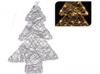 osvětlení vánoční STROMEK 30cm 20LED
