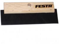 stěrka 180mm dřevěná rukojeť, tvrzená guma FESTA