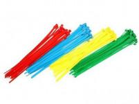 páska vázací 200x3,6mm (100ks) - mix barev