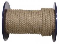lano přírodní 8mm stáčené s PP (100m)